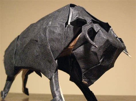 Origami Bull - pin origami bull ajilbabcom portal on