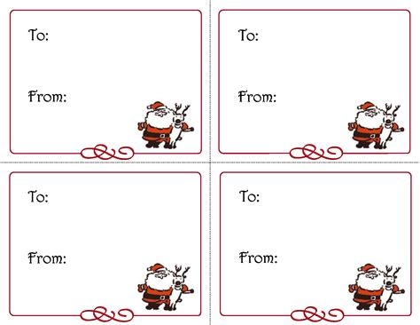 printable christmas gift tags you can type best photos of gift tag template christmas gift tag