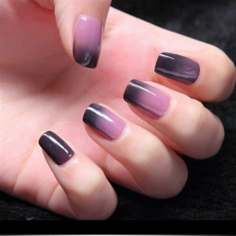 changing color nail y s temperature change gel nail shiny classic