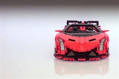 lamborghini lego set lamborghini veneno roadster sports car lego set gadgetsin