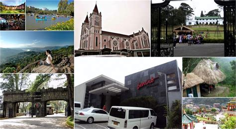 top    tourist spots  baguio city henspark