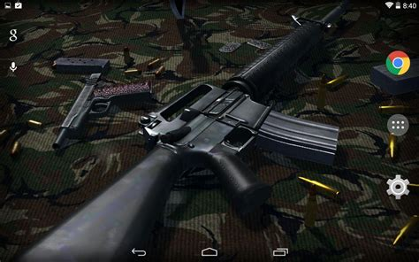 wallpaper for android guns 3d guns live wallpaper free android apps on google play