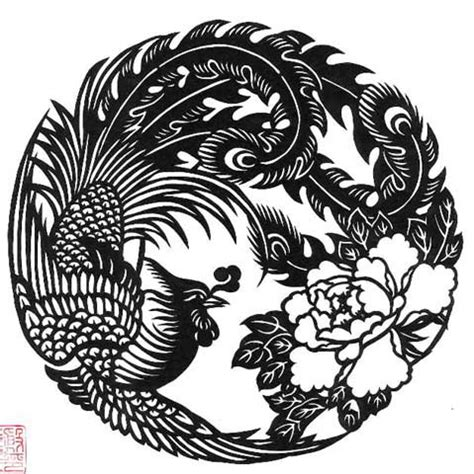 phoenix chinese cut out exquisite work thor flickr