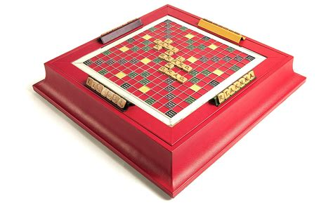 luxury scrabble set scrabble set in leather cherry zontik