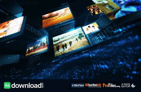 news templates after effects free download news package videohive projects free download free
