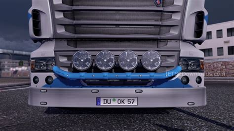 Lu Led Motor R lightfix mini hella luminator led truck simulator