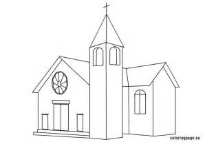 church coloring pages church free coloring pages