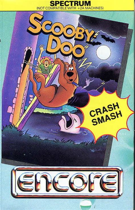 Cover Front Scoopy Original Ahm scooby doo 1986 amstrad cpc box cover mobygames