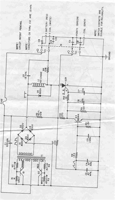 capacitor ignition circuit capacitive discharge ignition schematic get free image about wiring diagram
