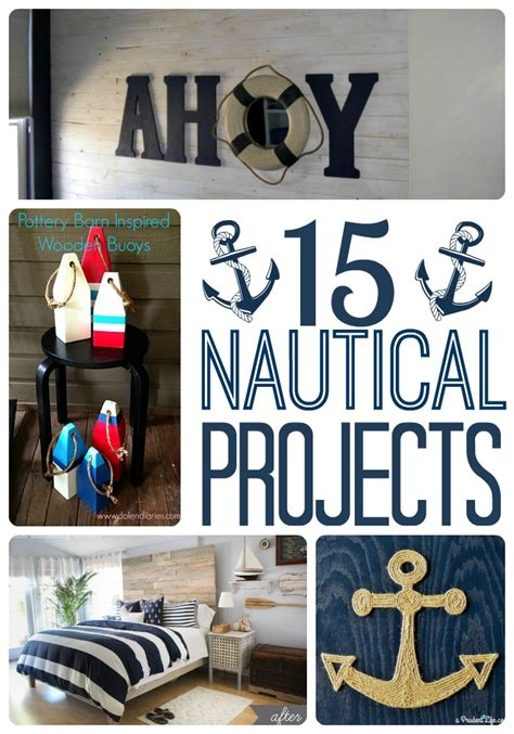 diy nautical home decor diy nautical decor roundup a prudent life