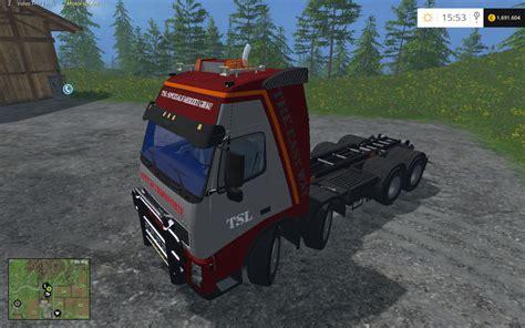 volvo fh hkl truck   farming simulator   mod