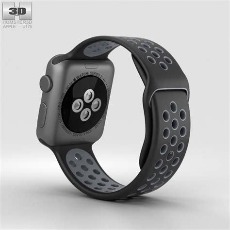 Apple Nike Aluminum Black Black Sport Band 38mm apple nike 38mm space gray aluminum black cool