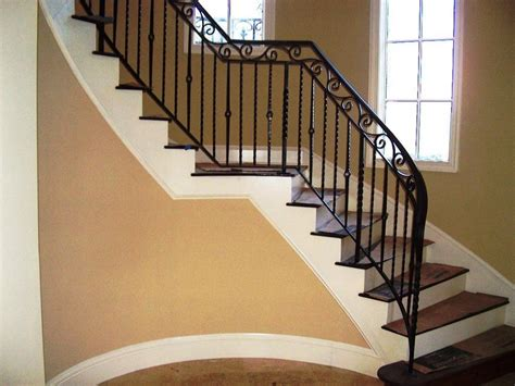 stair banisters and railings ideas indoor stair railings ideas railing stairs and kitchen
