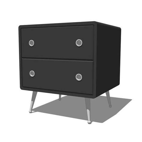 funky nightstands belair bedroom set 3d model formfonts 3d models textures