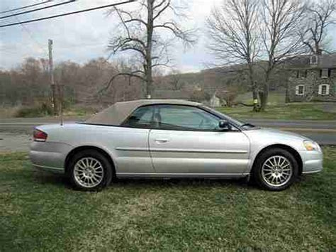 2006 Chrysler Sebring Touring Convertible by Find Used 2006 Chrysler Sebring Touring Convertible 2 Door