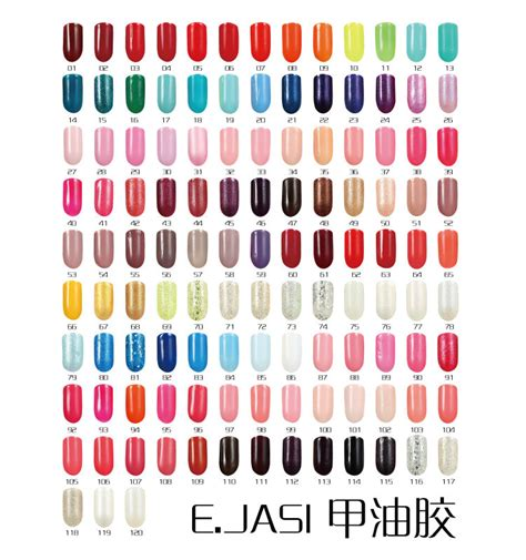popular nail colors in europe popular fashion new 40 colors e jasi soak off uv gel