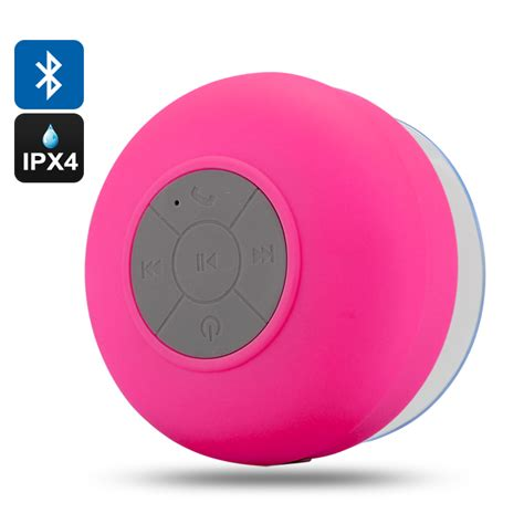 Blue Tooth Shower Speaker by Aquasound Ipx4 Water Resistant Bluetooth Shower Speaker