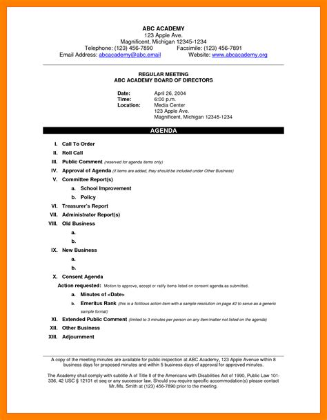 how to write minutes template 11 how to write a meeting agenda emt resume