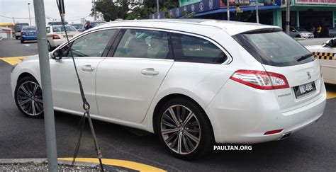 peugeot 408 wagon peugeot 508 gt wagon with malaysian plates spotted paul