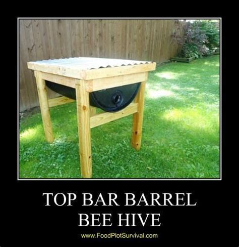 55 gallon top bar barrel bee hive 56 steps with pictures