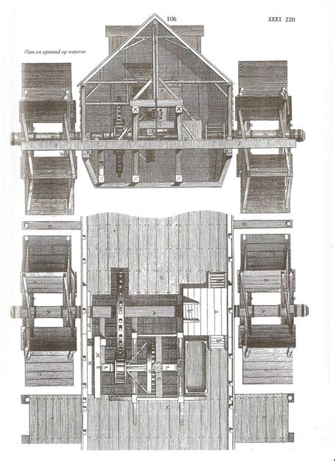 boat mills water powered floating factories  tech magazine