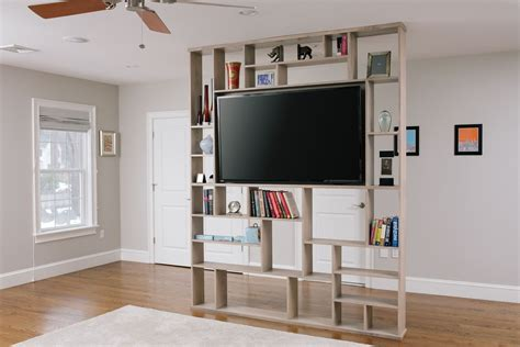 Tv Room Divider Home Design Decoration Small Free Standing Open Bookshelf As A Studio Within Bookcase Room