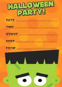 halloween invitations free templates free frankenstein halloween party invitation template