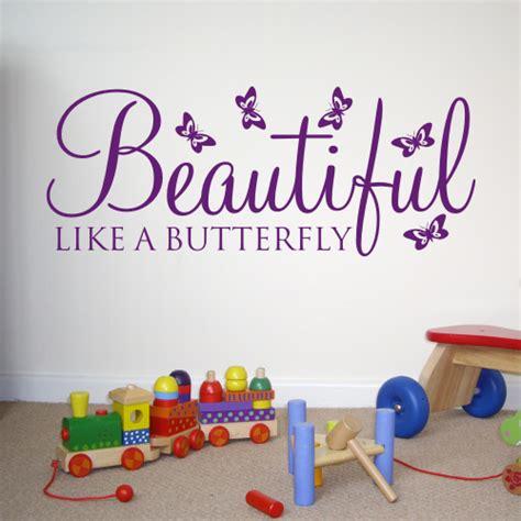 beautiful wall stickers beautiful like a butterfly wall sticker wa029x