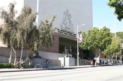 La County Court Records Los Angeles Superior Court Stanley Mosk Courthouse No