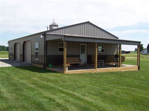17 best ideas about metal barn homes on barn