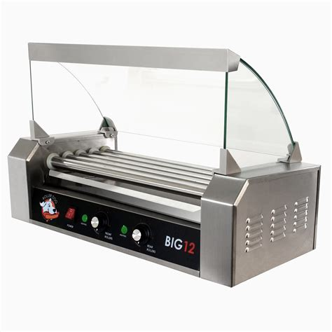 roller grill roller commercial 12 5 roller grill cooker machine rdb12ss kit ebay