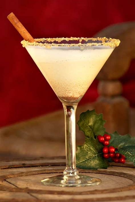 martini eggnog pumpkin eggnog martini recipe dishmaps