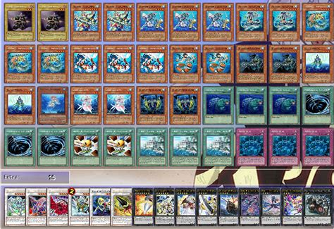 yugioh deck liste mermail atlantean september 2012