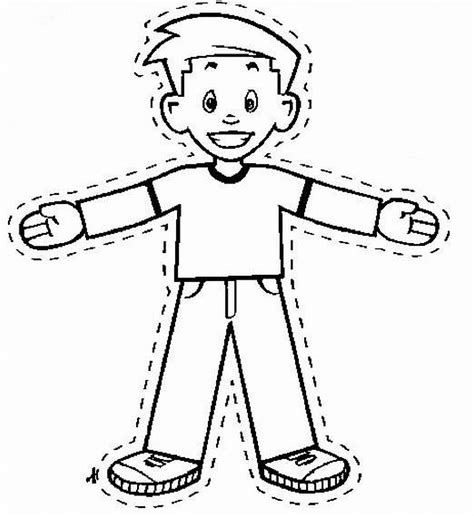 Flat Stanley Template Printable by Flat Stanley Add Picture To The Top To Become Quot Flat