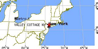 Valley Cottage Zip Code by Valley Cottage New York Ny Population Data Races