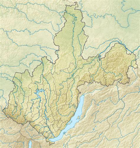 irkutsk map olchon wikiwand