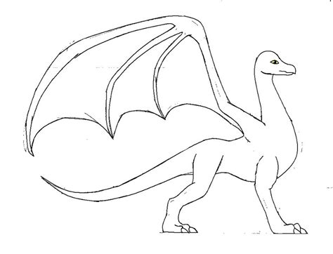 adult female dragon template by save animals7 on deviantart