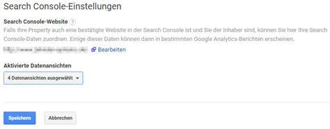 Mit Search Search Console Mit Analytics Verkn 252 Pfen