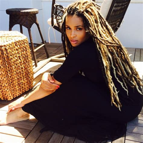 dread extensions for hair ciara debuts new look gorgeous dreadlock extensions my