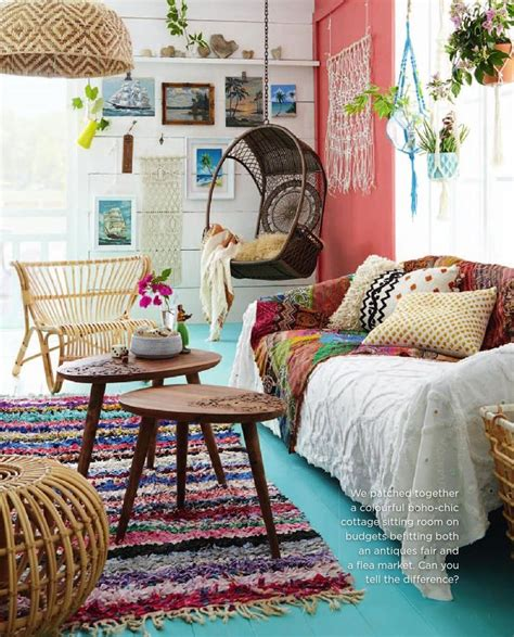 Boho Home Decor Ideas by 85 Inspiring Bohemian Living Room Designs Digsdigs