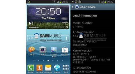 themes for android samsung galaxy ace samsung already working on android 4 1 2 jelly bean for