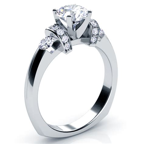 Tension Engagement Rings by Tension Set Engagement Ring 201 Bellevue Seattle