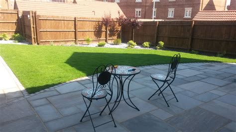 Curved Patio - patios paths and paving feel gardens