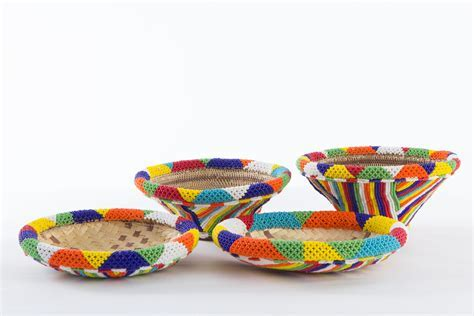 Tsonga Wedding Baskets   traditional decor   Tsonga