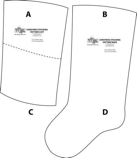 pattern for a small christmas stocking draw the pattern on the christmas stocking free printable
