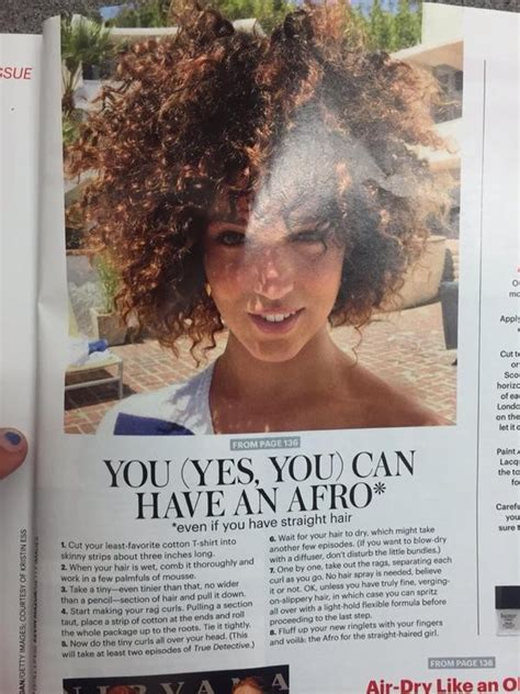Afro Allure Magazine | allure magazine receives backlash for afro hair article