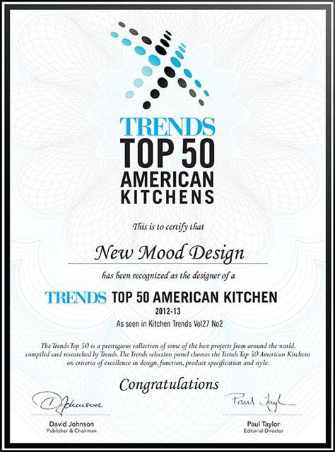 kitchen design certificate modern certificate design google search graphic