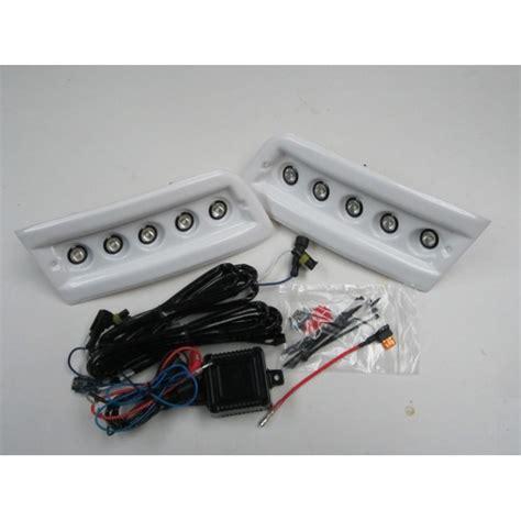 pod light kit white daytime running lights drl led