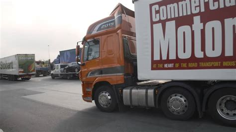 a week in trucks ford cargo daf cf road test freight in the city maritime