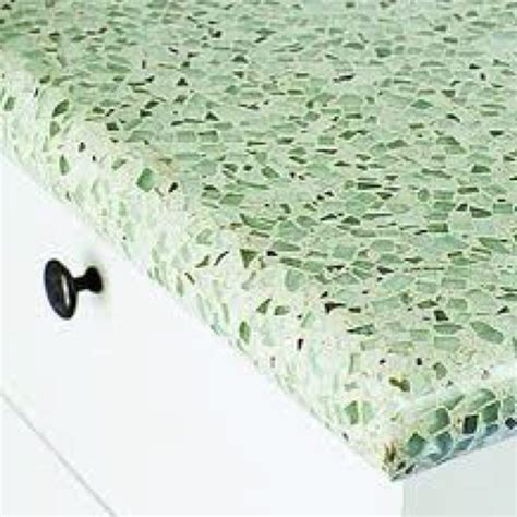 Glass Cement Countertops by Sea Glass And Cement Countertops This Look One Day